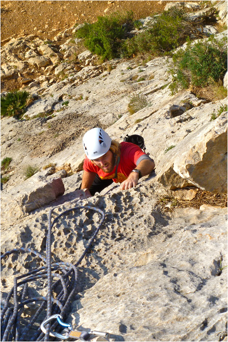 Rock-climbing-holiday-Costa-Blanca. Toix crag
