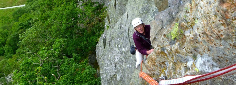 Little Chamonix - guided rock climbing