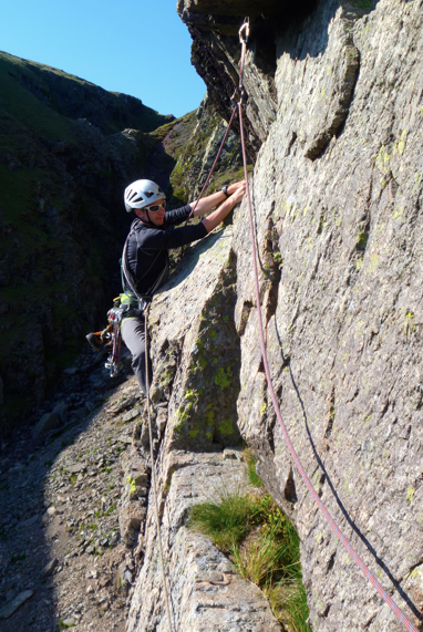 Lake District rock climbing