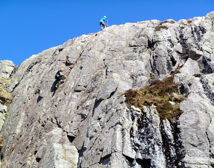 Beginners-rock-climbing-lake-district