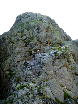 Rock climbing - Coniston