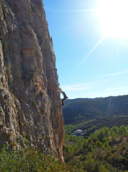 Rock climbing at Font d'Axia - Costa Blanca