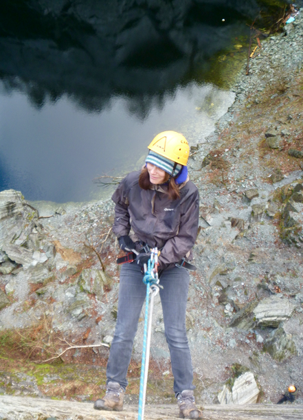 Abseiling-Lake-District