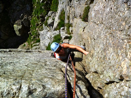 Guided Rock Climbing - Lake District