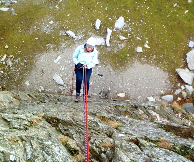 Abseiling - Coniston
