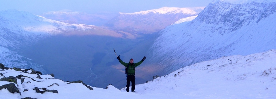 Winter Skills course - Lake District