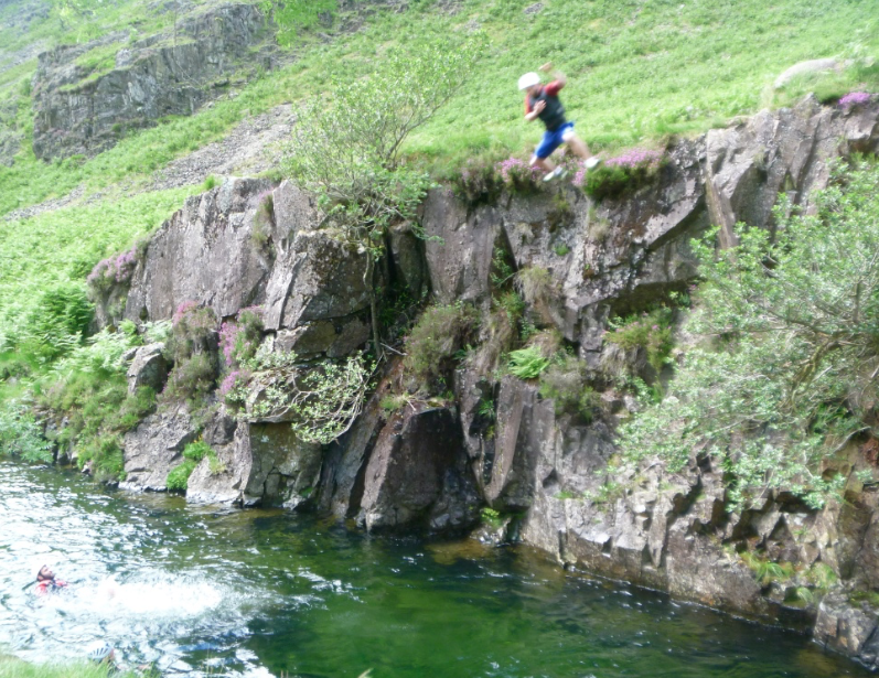 #canyoning_lake_district