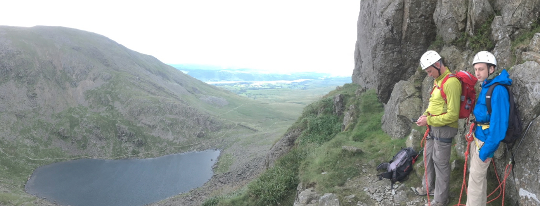 #rock_climbing_dow_crag_lake_district