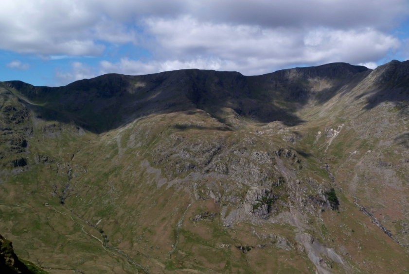 Helvellyn guided walks in the Lake District