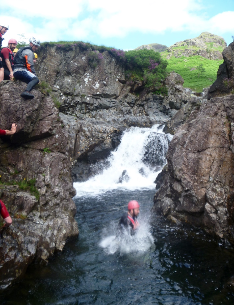 #lake_district_gorge_scrambling