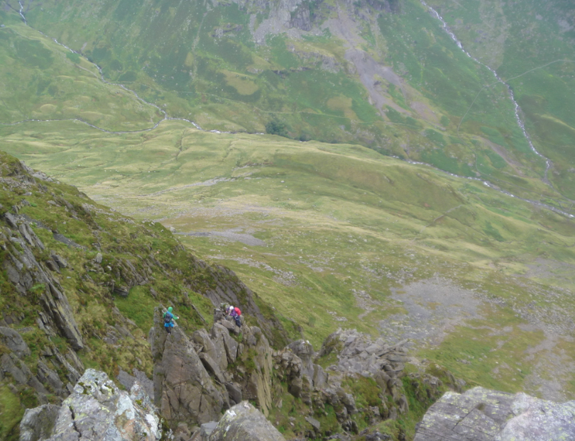 #pinnacle ridge scramble lake district