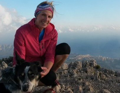 Kate Ayres trail and fell running guide