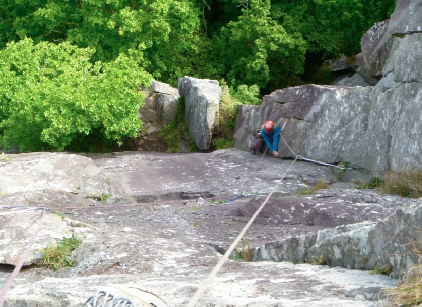 Rock climbing coaching and progression, Snowdonia and Lake District