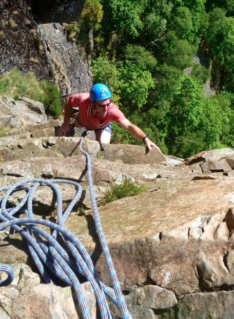 Guided rock climbs in the Lake District