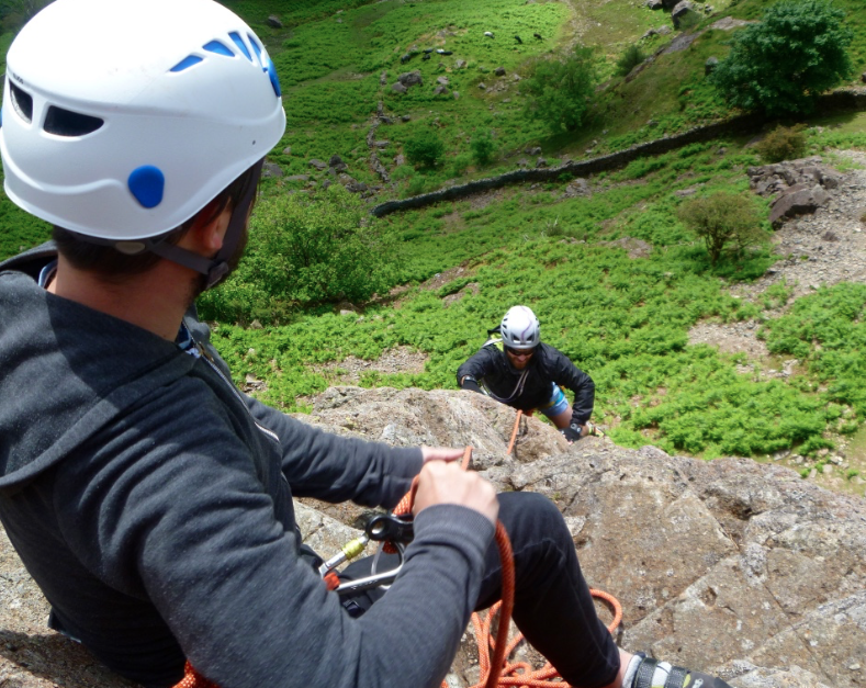 Lead climbing course - Lake District