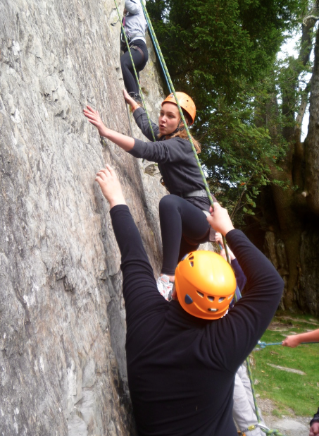 #rock climbing course lake district