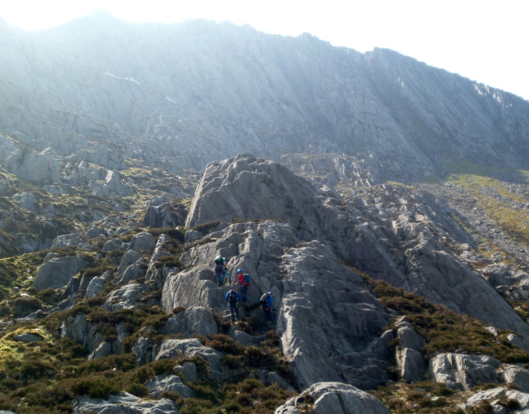 Mountaineering courses, Snowdonia and Lake District