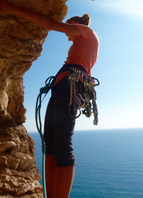 Multi-pitch-climbing-Costa-Blanca