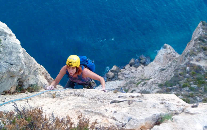 Improvers-rock-climbing-Costa-Blanca