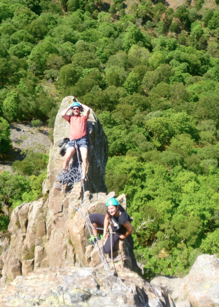 Rock climbing instructor near Keswick