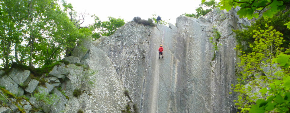 Abseiling - Lake District