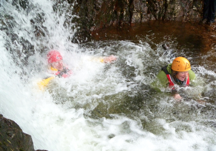 Family activities - Gorge Scrambling