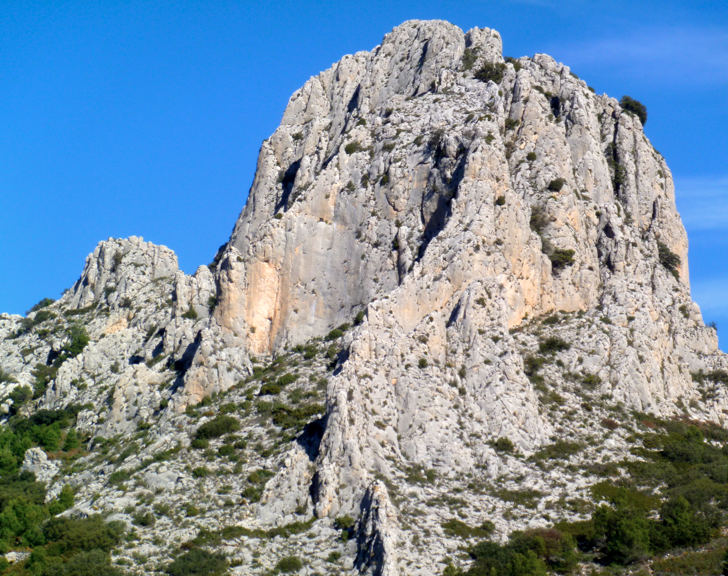 Ridge scrambling - Costa Blanca