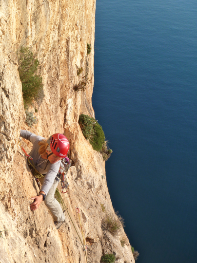 Multi-pitch climbing - Costa Blanca