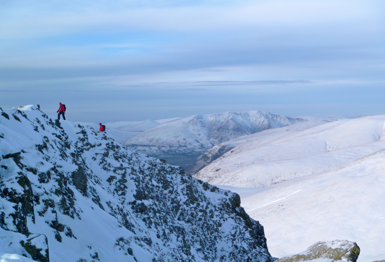 Winter mountaineering - Lake District