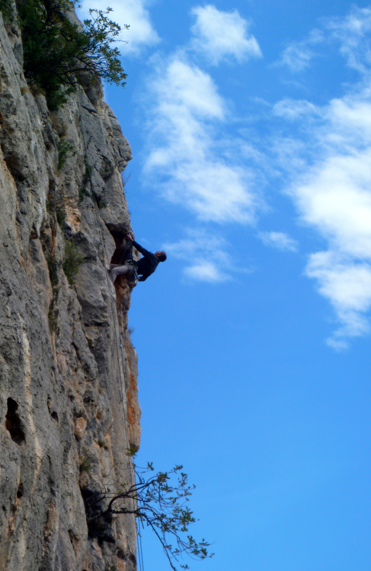 Rock climbing at Gandia, Costa Blanca