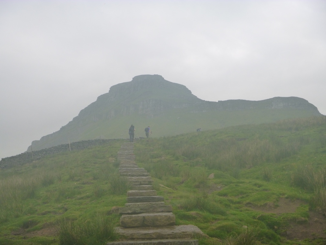 Yorkshire-3-peaks-ascent-of-first-summit-pen-y-ghent