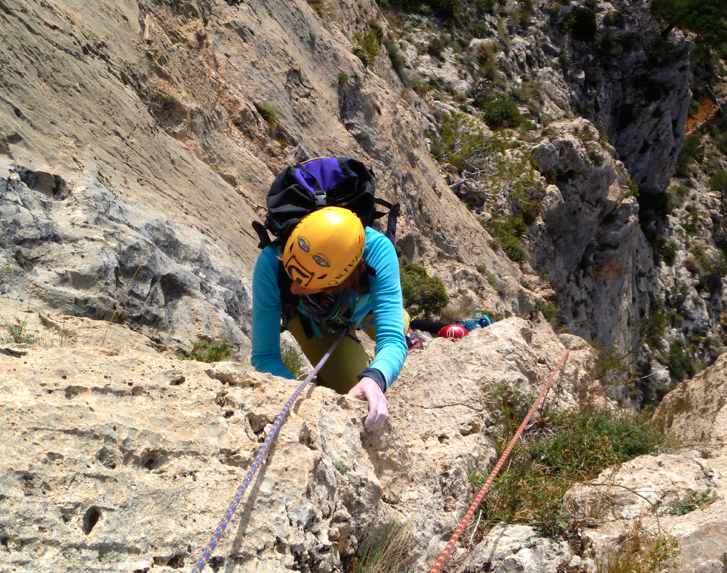 Guided-rock-climbing-Spain