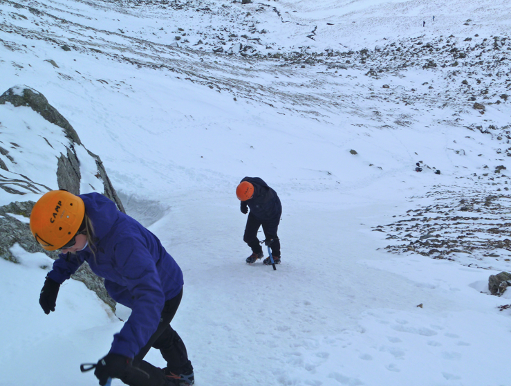 Winter skills course, Lake District