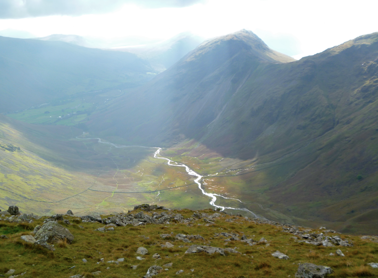 Wasdale from the Mosedale horseshoe
