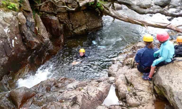 Gorge Scrambling - Stickle ghyll