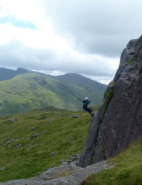 Abseiling-activities-Lake-District