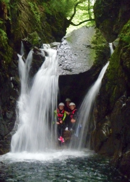 #church beck canyoning