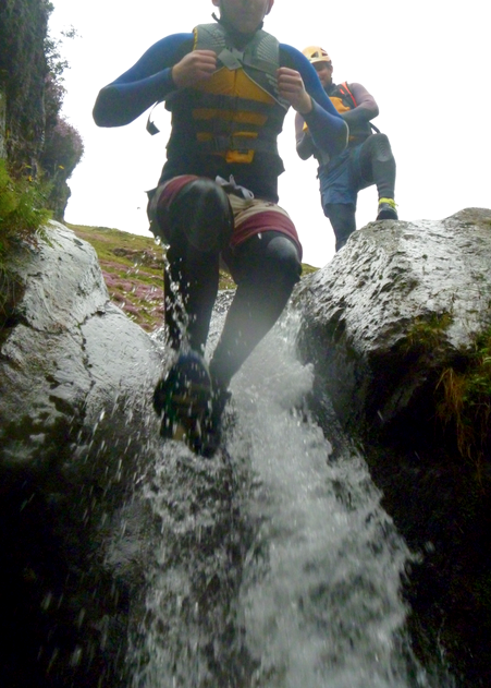 #gorge scrambling near Keswick