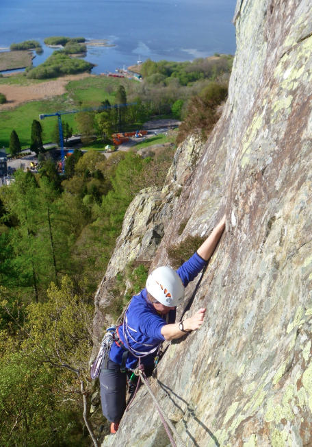 #guidedclimbingnearkeswick