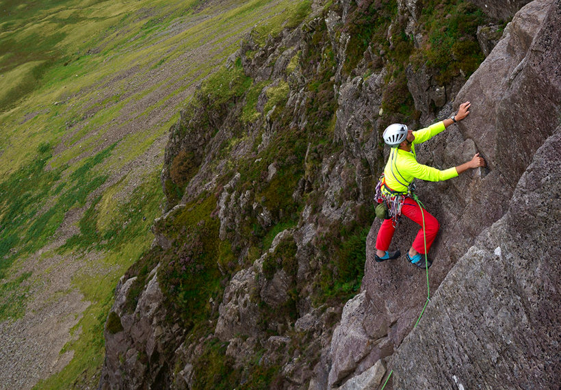 #Lake-district-rock-climbing-gillercombe-buttress