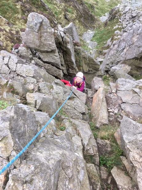 #pinnacle_ridge #scrambling_and_climbing_with_kids #lake_district