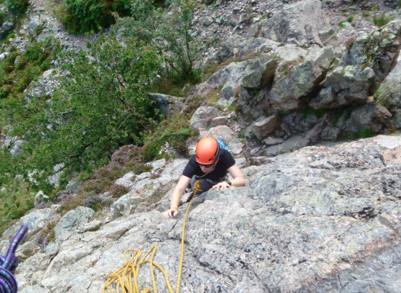 Rock climbing course, Lake District