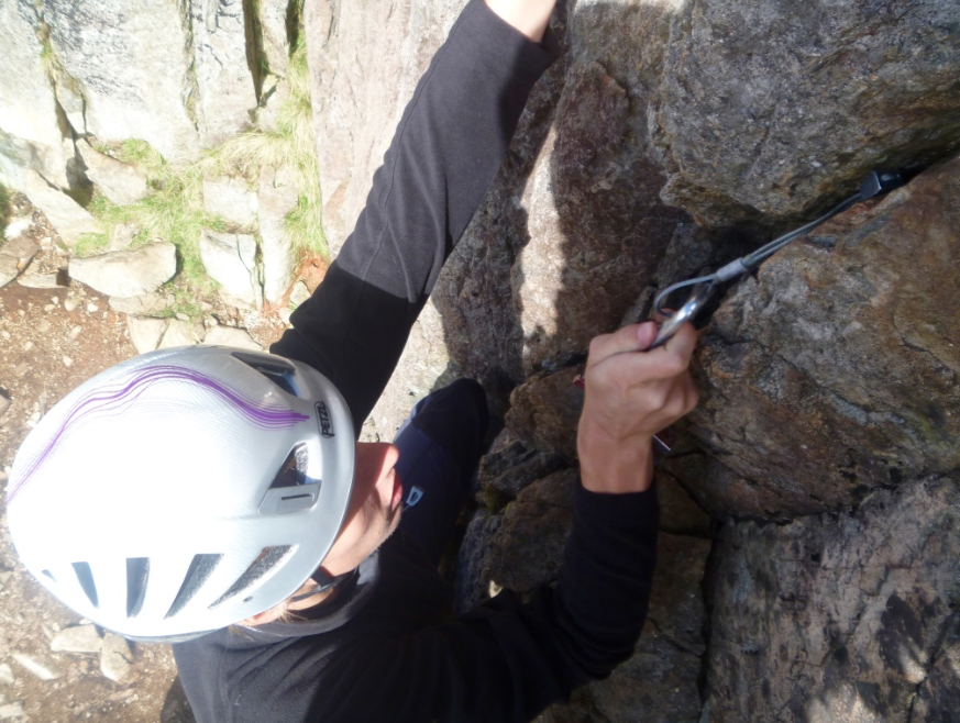 Lead climbing course, Lake District
