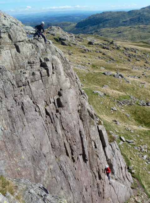 Lake District rock climbing course