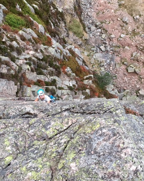 #tradclimbingcourselakedistrict