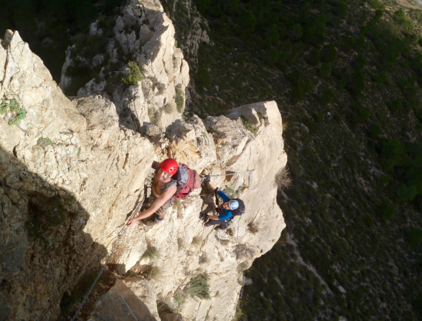 Costa-blanca-via-ferrata